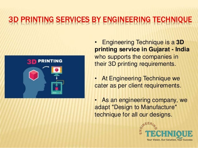 6 3d printing services