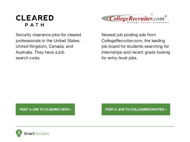 8 security clearance jobs for cleared professionals - Job Boards Best Niche Job Boards