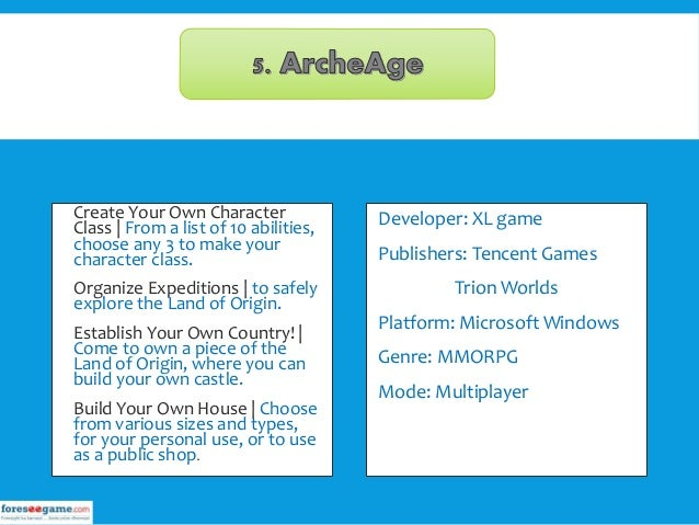 Mmorpg Games That You Can Build Your Own Shop