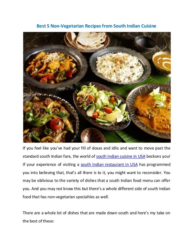 Indian cooking - Non-vegetarian Recipes