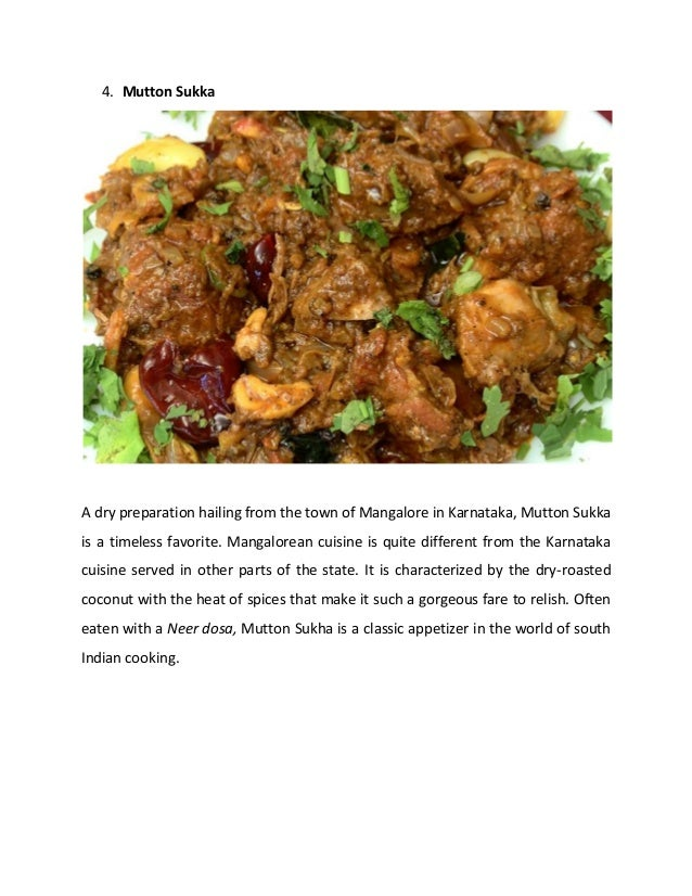 Best 5 non vegetarian recipes from south indian cuisine 5 4 forumfinder Image collections