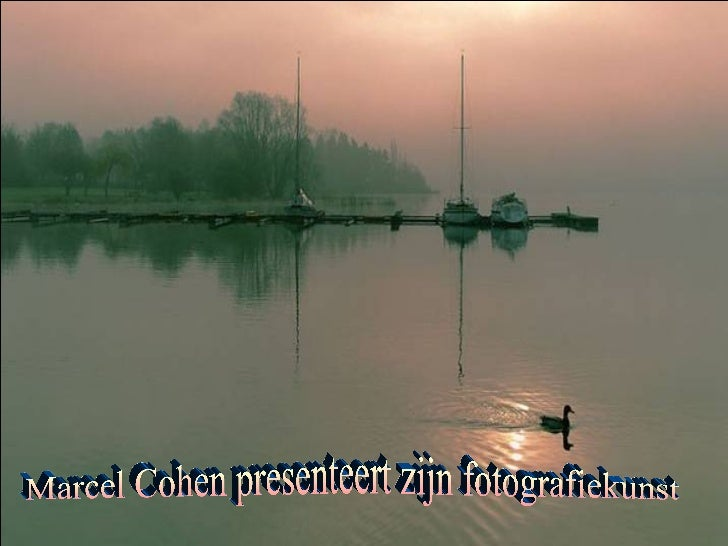 Marcel Cohen presenteert zijn fotografiekunst