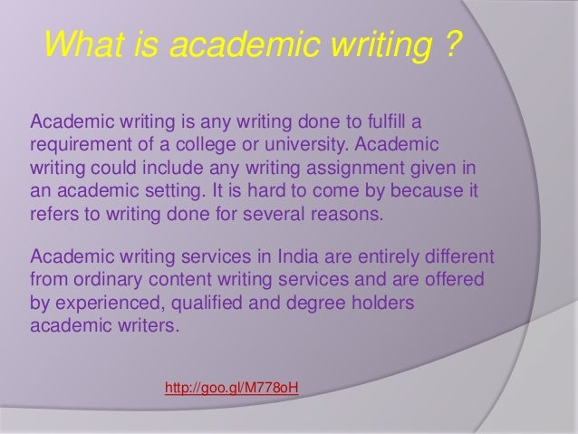 Academic paper writing services e banking