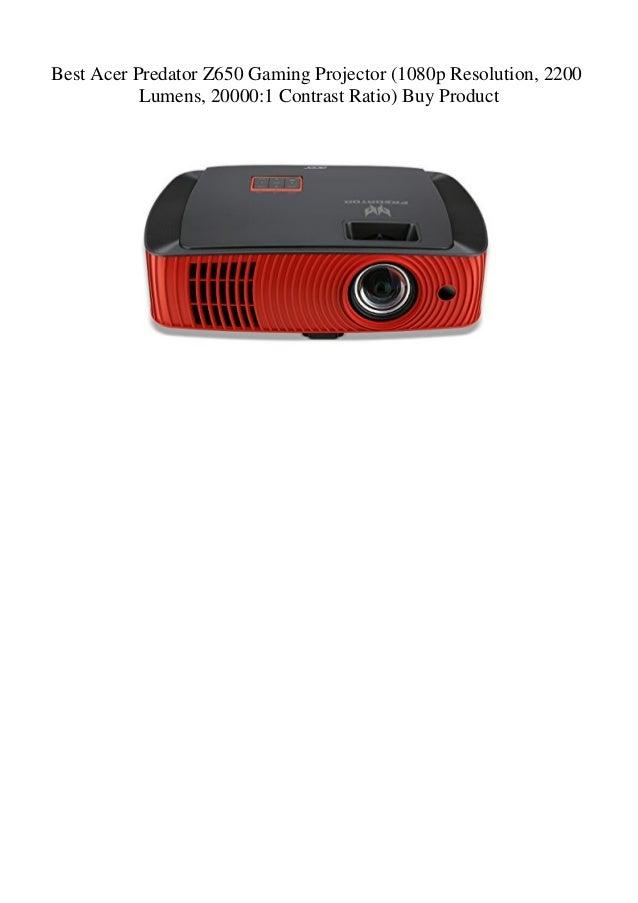Best Acer Predator Z650 Gaming Projector (1080p Resolution