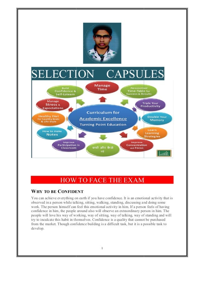 SELECTION HOW WHY TO BE CONFIDENT You can achieve everything on earth if you have confidence. It is an emotional activity ...