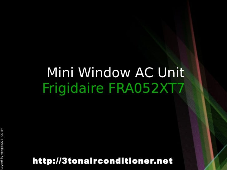 5 mini window ac