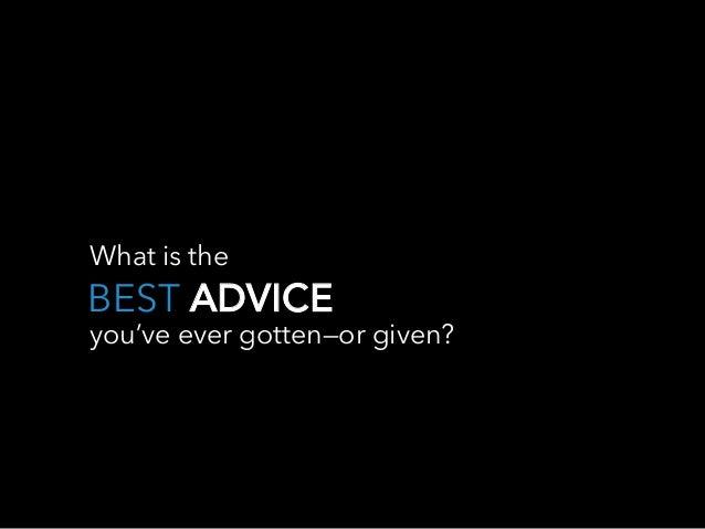 The Best Advice LinkedIn Influencers Ever Got Slide 15