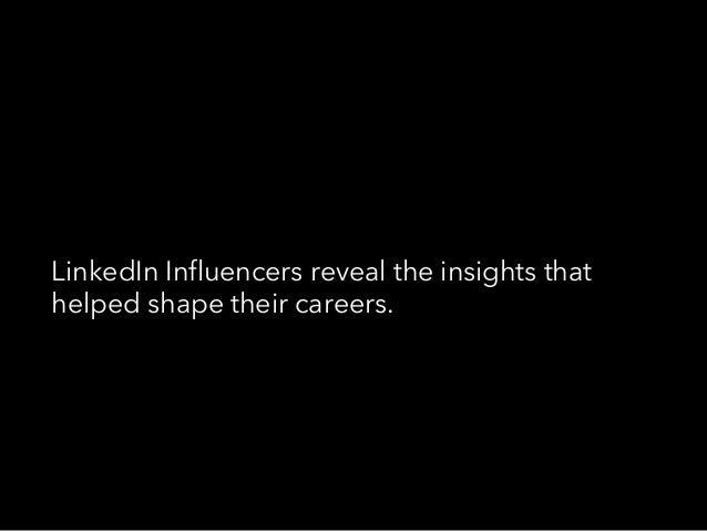 The Best Advice LinkedIn Influencers Ever Got Slide 3