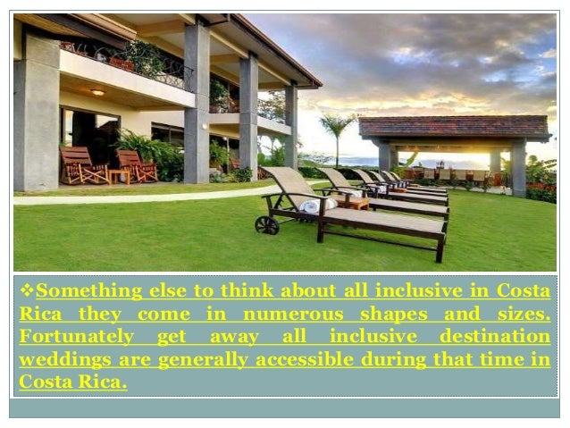 Best all inclusive resorts in costa rica for Number one all inclusive resort