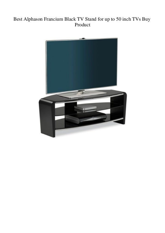 Best Alphason Francium Black Tv Stand For Up To 50 Inch Tvs Buy Produ