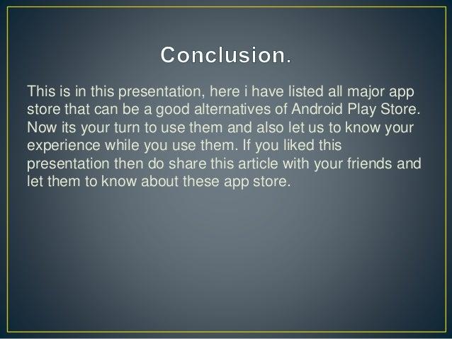 Best alternatives of google play store