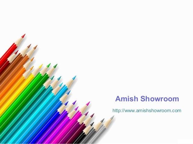 Amish Showroom http://www.amishshowroom.com