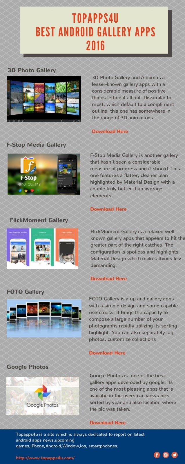 Best Android Gallery Apps 2016