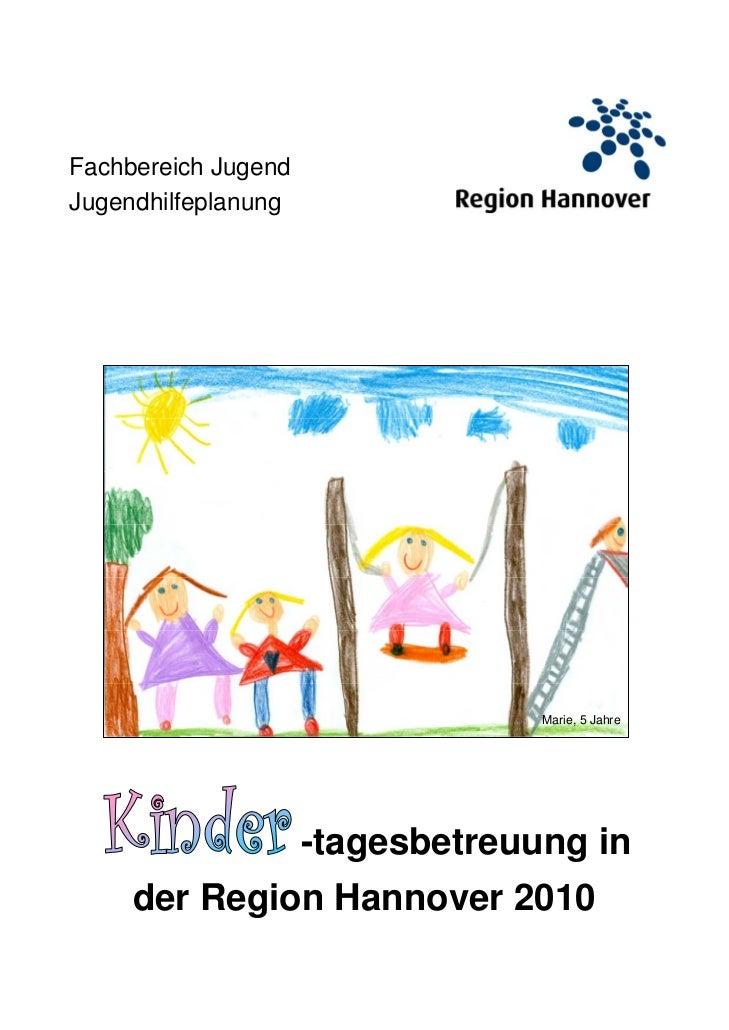Fachbereich JugendJugendhilfeplanung                                  Marie, 5 Jahre                     -tagesbetreuung i...