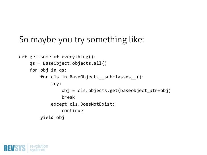 """""""But… but… everything really does need a creation date!""""So give everything a creation date."""