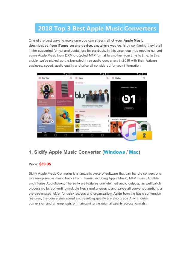 Best apple music converter review