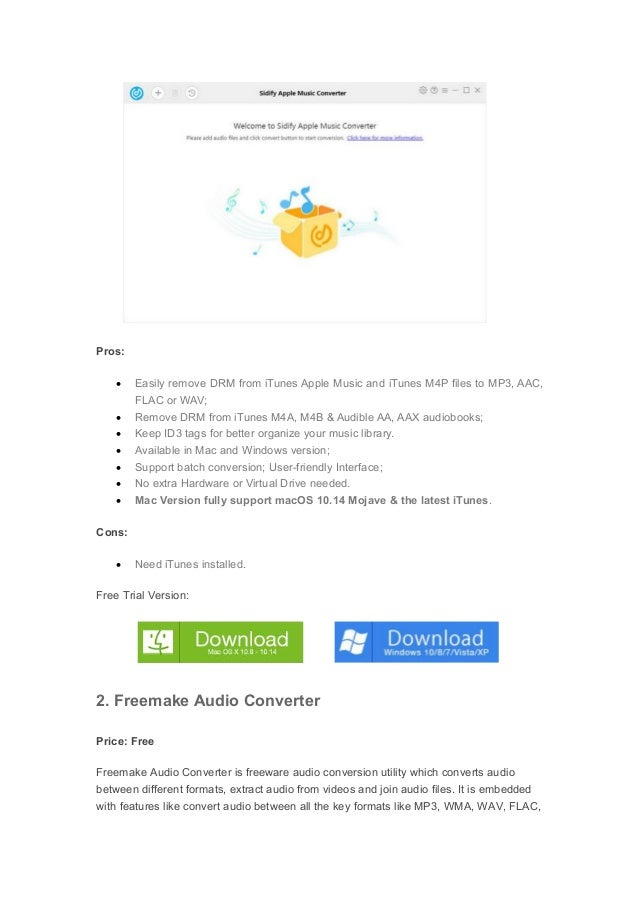 freemake audio converter per mac