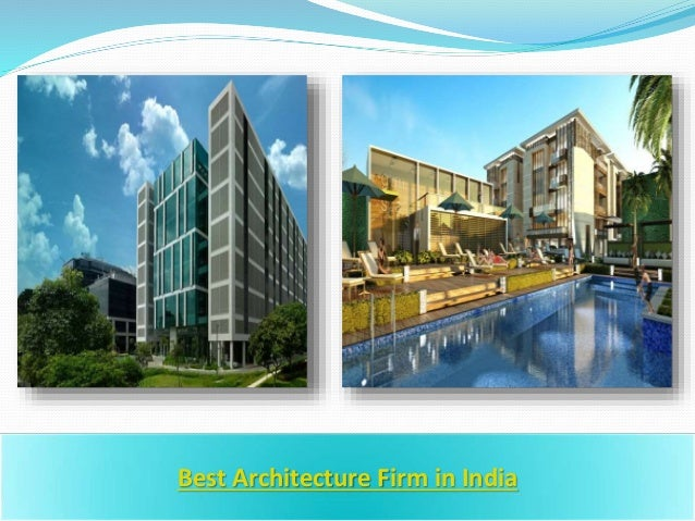 best architecture firms in india