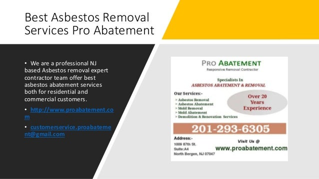 Best Asbestos Removal Services Pro Abatement