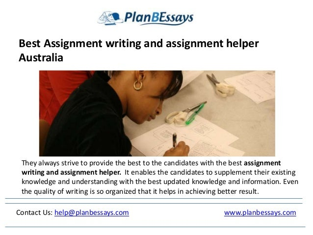 Your Best Assignment Choice