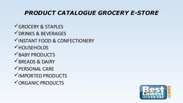 e grocery store