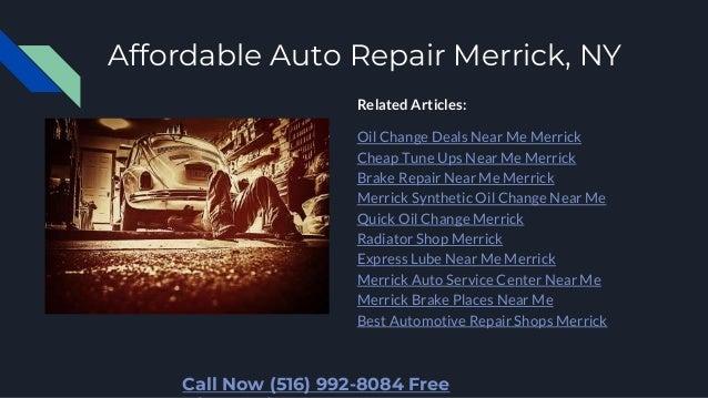 Brake Places Near Me >> Best Auto Repair Shops Merrick Ny