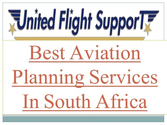 Best Aviation Planning Services In South Africa