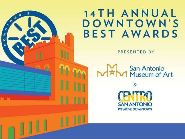 2014 Downtown's BEST Awards - Centro San Antonio