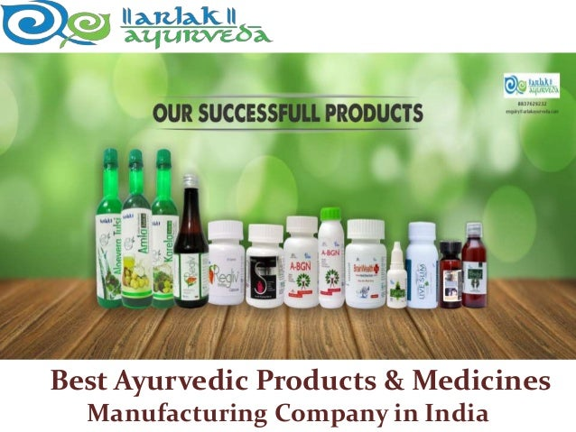 Best Ayurvedic Products Manufacturing Company in India