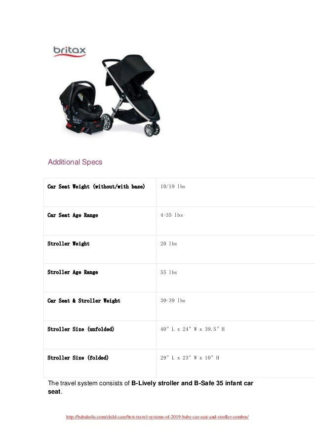 Best baby car seat and stroller combos of 2019
