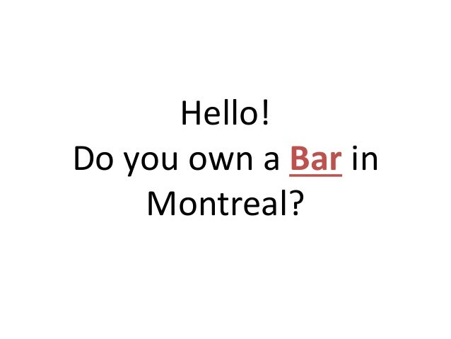 best bars in montreal canada