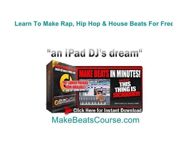 Best beat maker software online tutorials