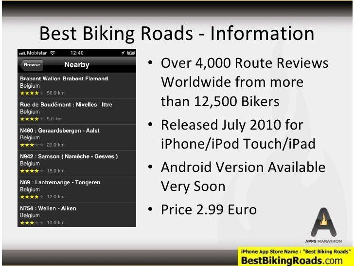 best biking roads app