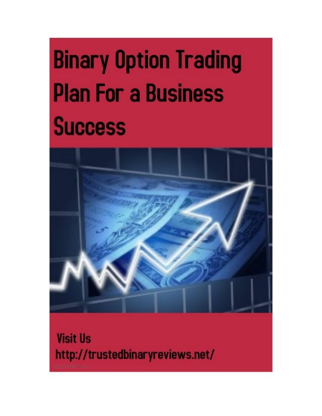 Binary option trading plan