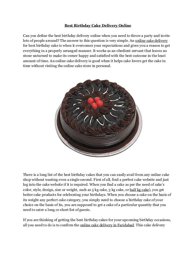 Prime Best Birthday Cake Delivery Online Funny Birthday Cards Online Sheoxdamsfinfo