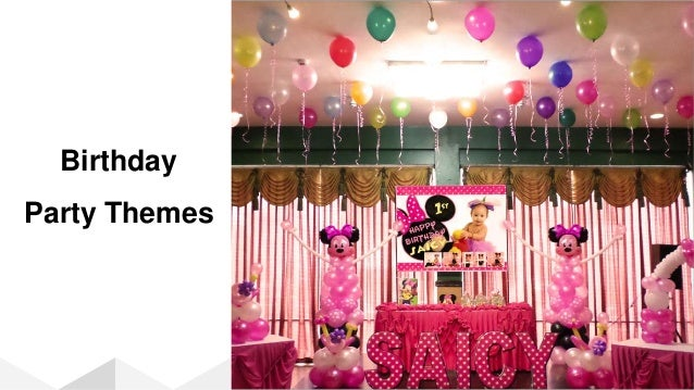 Best Birthday Themes Decorations In India
