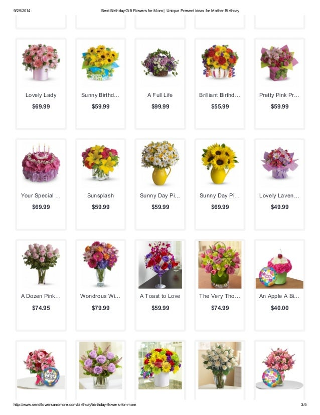 Best Birthday Flowers For Your Mom
