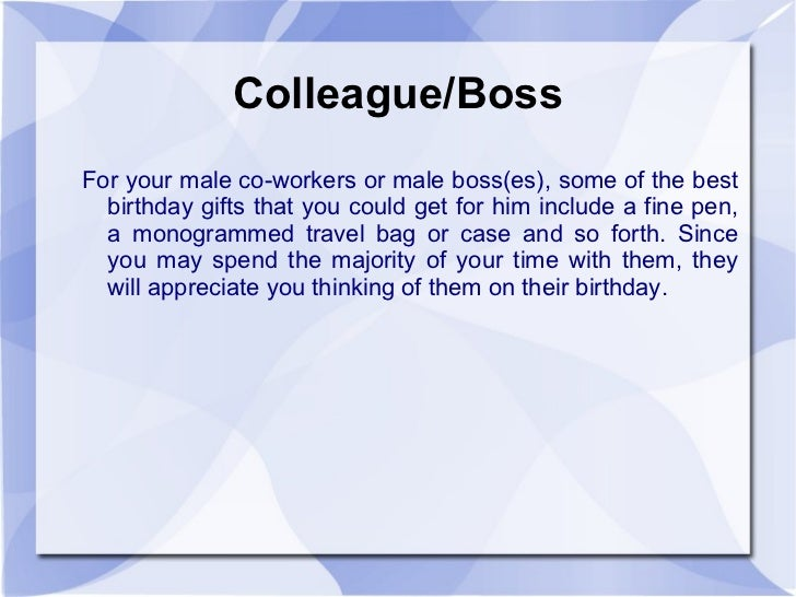 Birthday Present For My Manager Kinds Of Boss S Day Gifts Huffpost