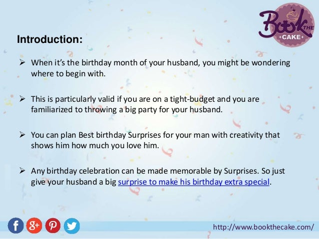 Best Birthday Surprises For Your Husband 2