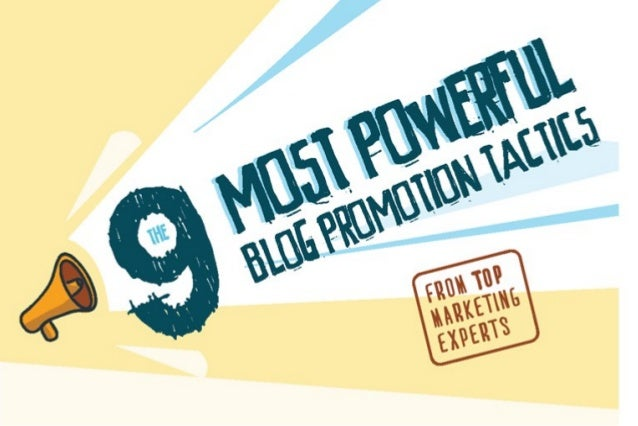 Best blog promotion techniques