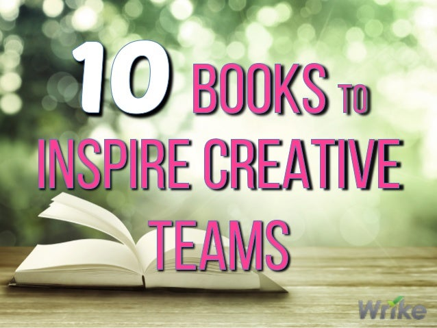 10 Best Books to Inspire Creative Teams Slide 1
