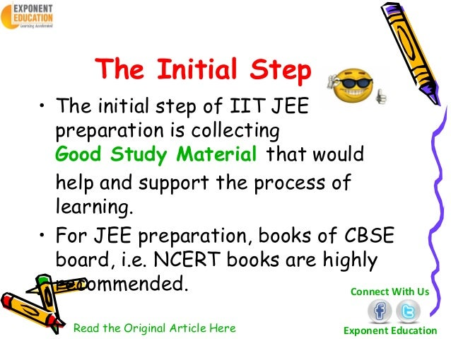 prepare for jee How to prepare for jee advanced 2019 after jee main you have one month before jee advance exam one might easily think it to be insignificant.