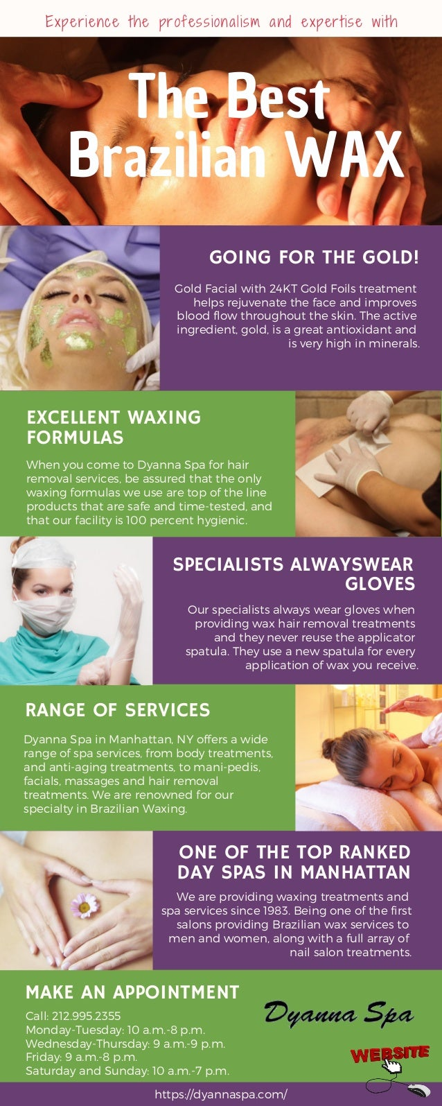 Best Brazilian Wax Places In Manhattan Ny