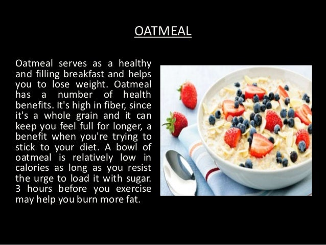 Best breakfast foods for weight loss food lovers diet forumfinder Choice Image