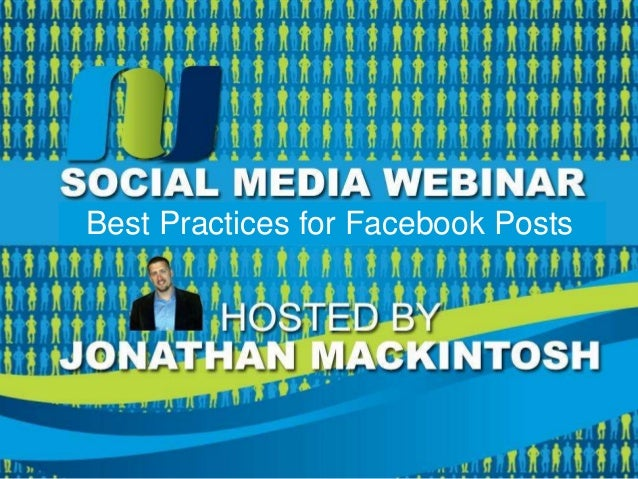 Best Practices for Facebook Posts