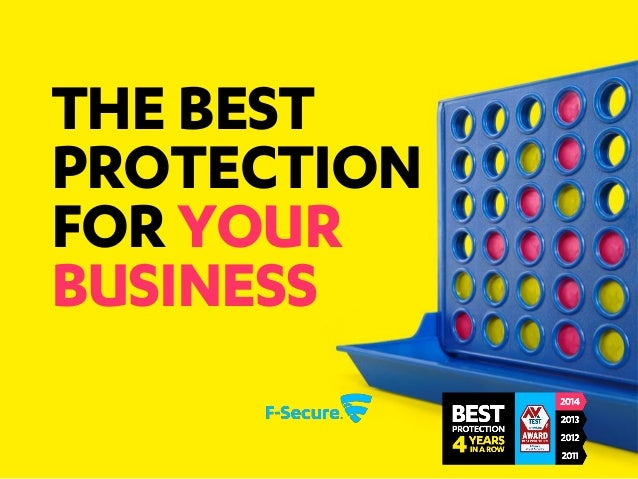 THE BEST PROTECTION FOR YOUR BUSINESS