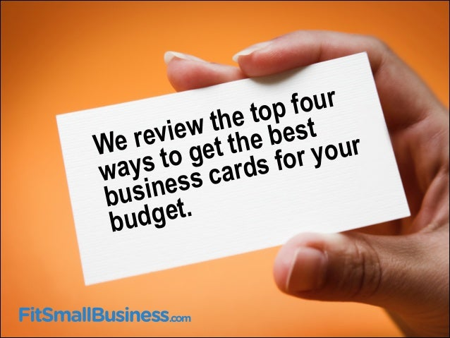 Where to get the best business cards for your budget best business card provider 2 ur reheart Choice Image