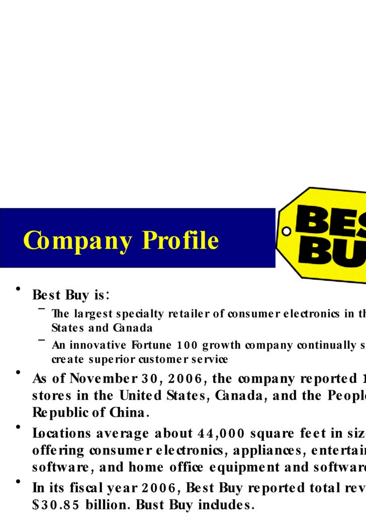 Best buy swot analysis