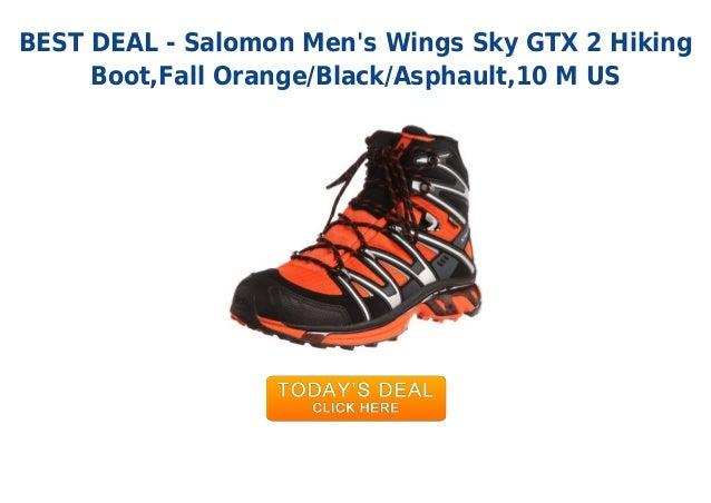 SALOMON WINGS SKY GTX 2 OrangeBlack