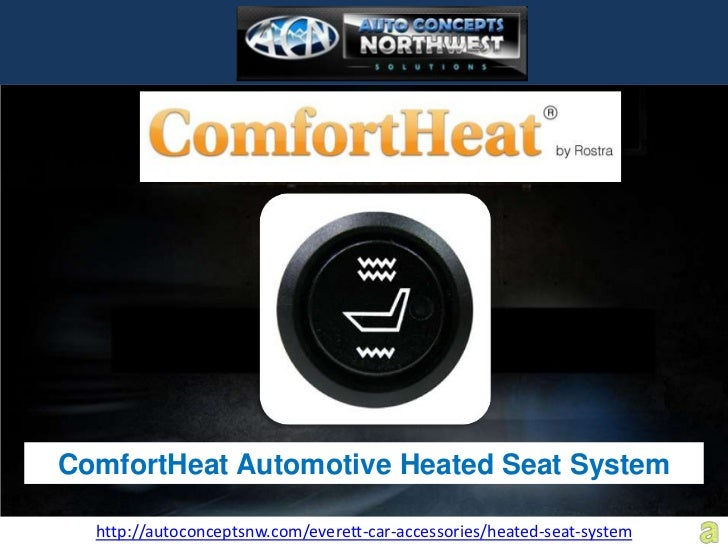 ComfortHeat Automotive Heated Seat System  http://autoconceptsnw.com/everett-car-accessories/heated-seat-system